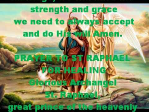 St raphael patron saint of singles prayer