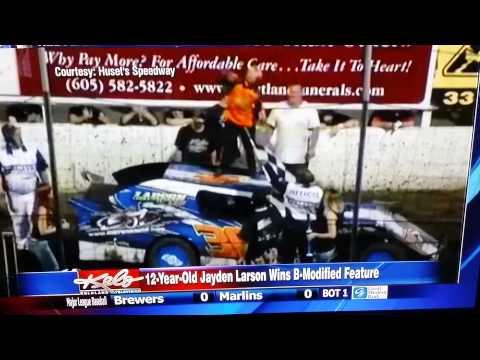 12-year-old Jayden Larson
