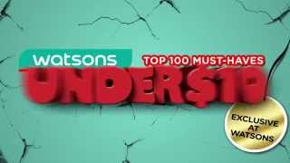 What Watsons Exclusive products can you buy under 10$? Thumbnail