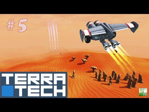 видео: Постройка Ракеты. terratech №5
