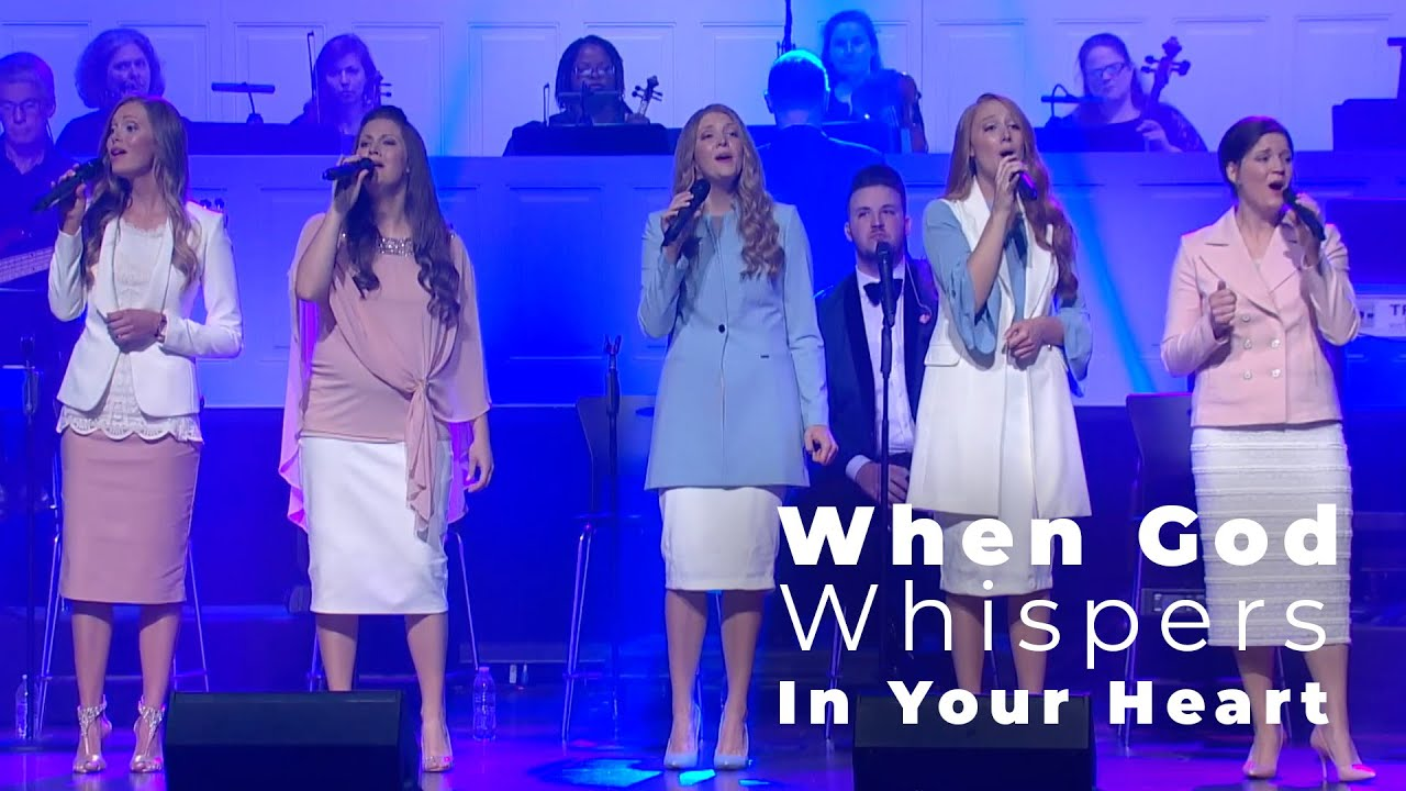 When God Whispers In Your Heart | The Collingsworth Family | Official Performance Video