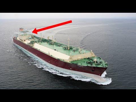 How It Looks Inside LNG Ship | Part 2