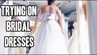 WEDDING DRESS SHOPPING!!
