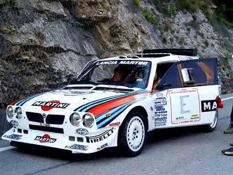 lancia delta s4 martini racing - youtube