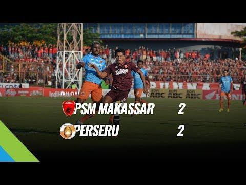 [Pekan 19] Cuplikan Pertandingan PSM Makassar vs Perseru, 5 Agustus 2018