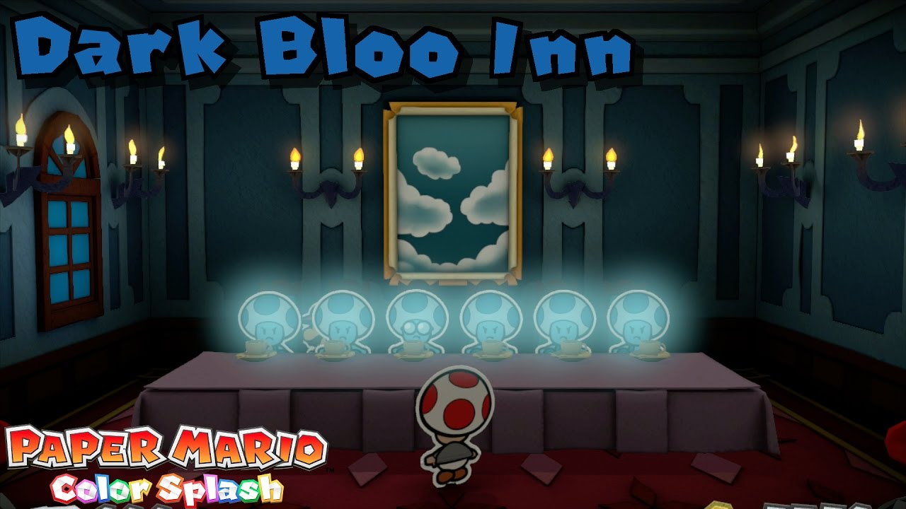 Paper Mario Color Splash 100 Repainted Stage 13 Dark Bloo