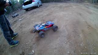Recipe for bashing with Traxxas and Losi