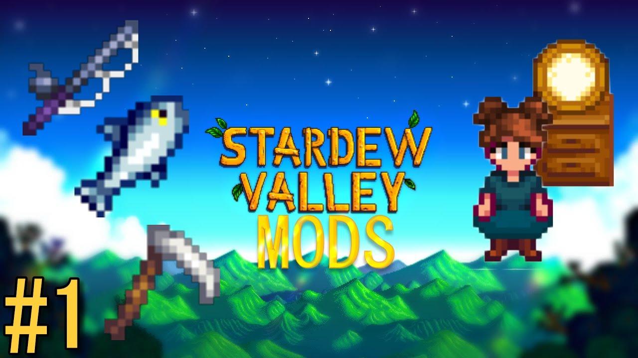 BEST STARDEW VALLEY MODS #1: Harvest With Scythe, Easy Fishing, Dresser