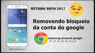 COMO REMOVER CONTA GOOGLE J5 (FUNCIONA EM TODOS MÉTODO EXCLUSIVO 2017 HD)
