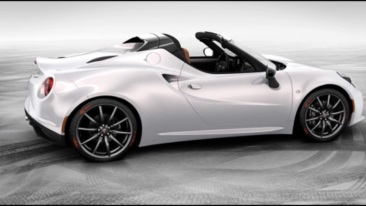 2018 Alfa Romeo Al-New 4C Spider - YouTube