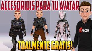 ACCESORIOS NUEVOS PARA TU AVATAR TOTALMENTE GRATIS XBOX ONE OCTUBRE 2018