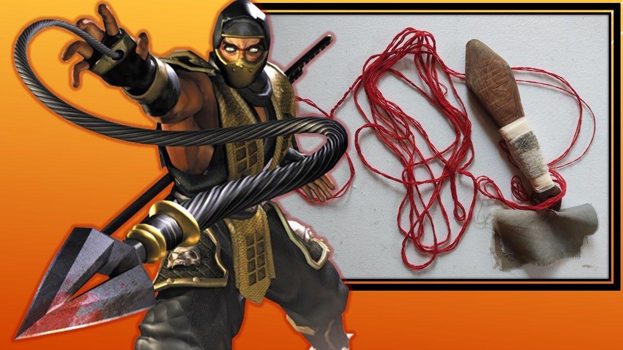 How to make Rope Dart   DIY rope dart   Custom Made weapon