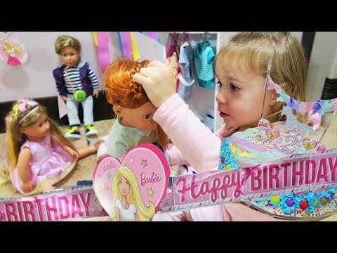 ISABELLA TURNS 2! - Birthday Special Barbie & Our Generation Doll Suprises