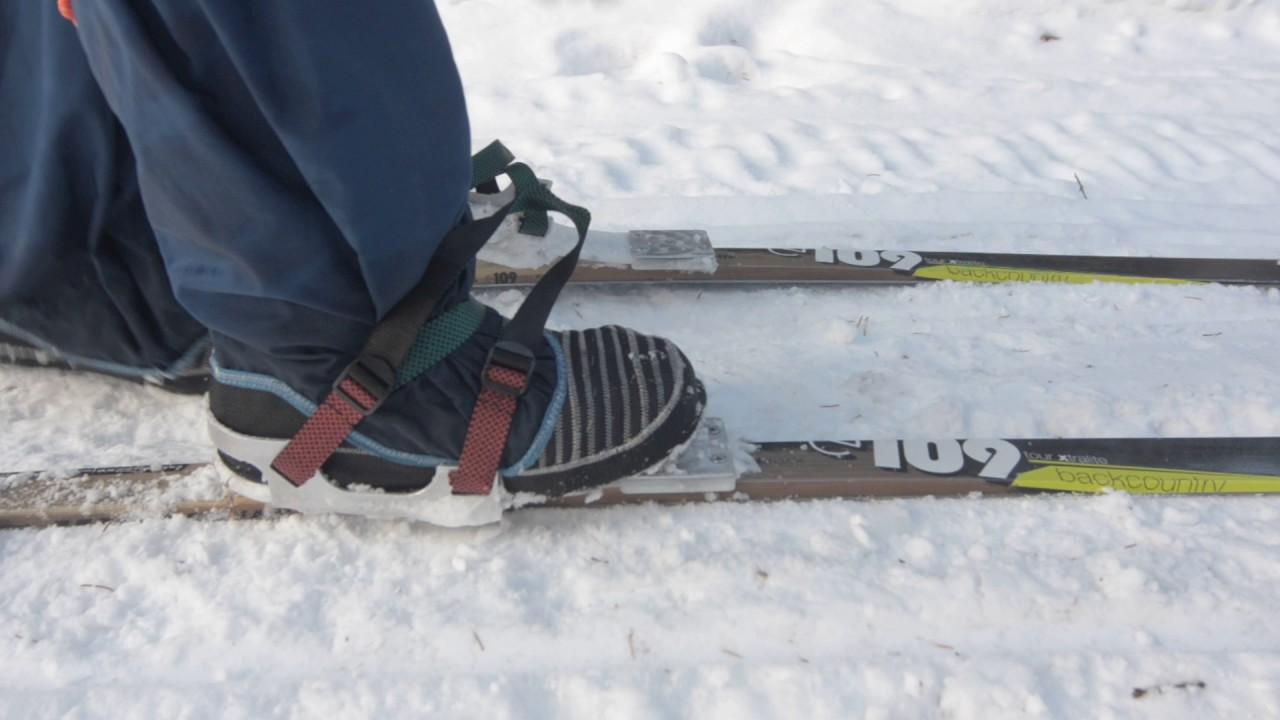 45de55bc094f Универсальные лыжные крепления «Камчатка»