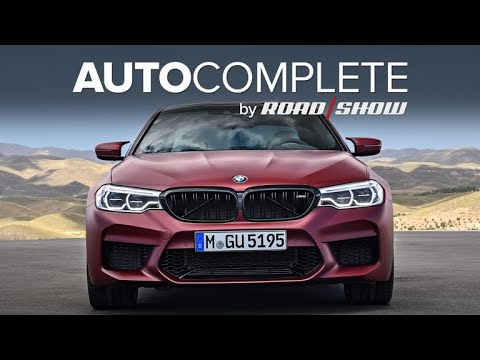 AutoComplete: BMW unveils the 600-hp 2018 M5