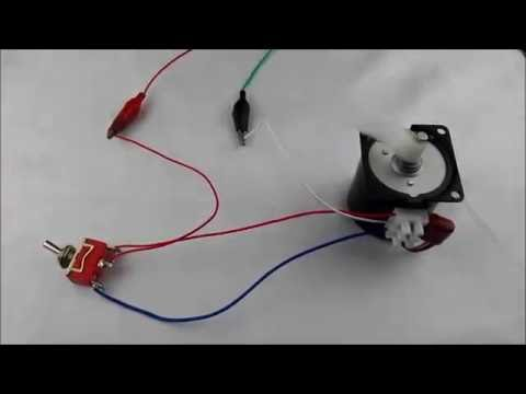 60KTYZ Synchronous Motor Wire Connection  YouTube