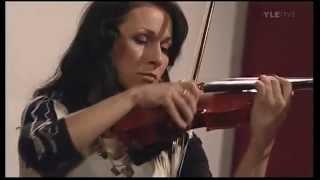 Violinist virtuoso Miritza Lundberg: Zigeunerweisen (Sarasate) and Hora Martisolorui (Diricu)