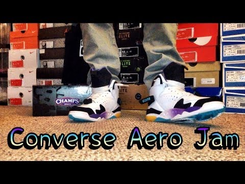 4136d250d649 Converse Aero Jam Review   On Feet - YouTube