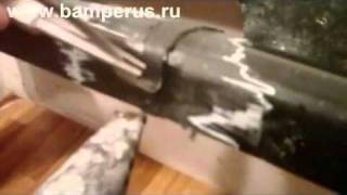 видео плоские электроды для ремонта бампера