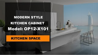 Kitchen Furniture - Modern Kitchen - White Lacquer Kitchen Cabinet