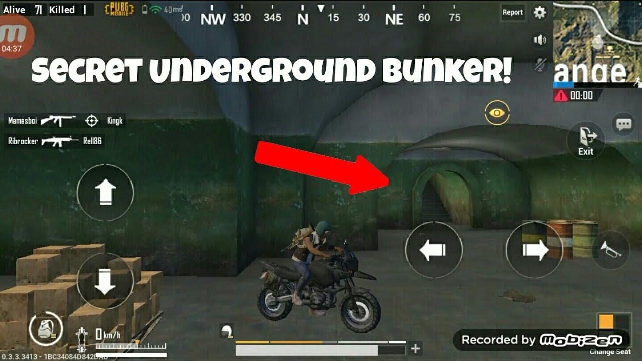 PUBG Mobile Secret Underground LOOT BUNKER YouTube
