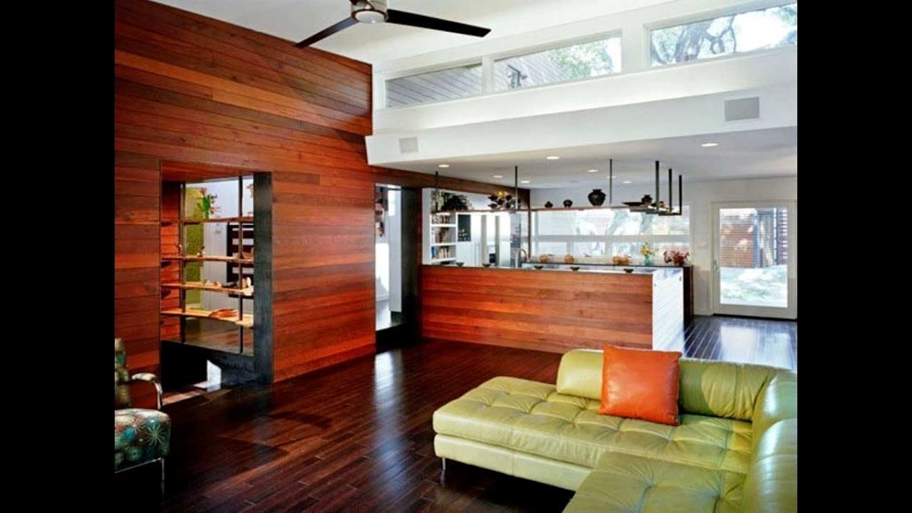25 Room Wood Paneling Design Ideas Part 86