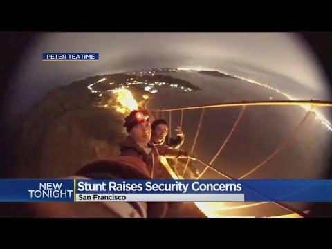 Teens' Daredevil Stunt Prompts Review Of Golden Gate Bridge Security
