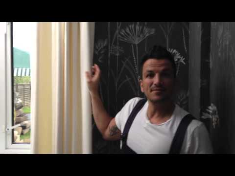 Peter Andre loves Handmade curtains