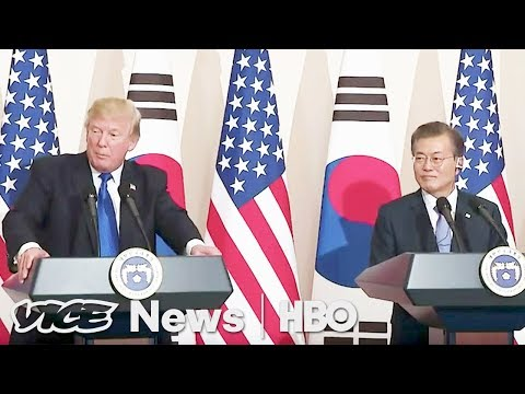 Trump's Trip To Seoul Doesn't Help Solve Problems With North Korea (HBO)