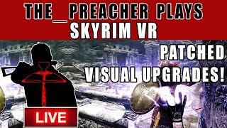 Skyrim VR Patch 1.04 vs 1.03 GFx Comparison (PSVR) The_Preacher Plays