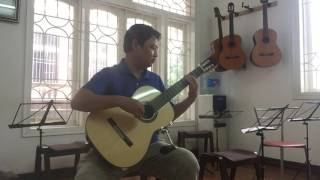 Lời Ru Trên Nương (NS Trần Hoàn) - Lê Hùng Phong (guitar solo)