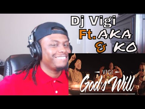 DJ Vigi Ft KO and AKA - God's Will - Reaction
