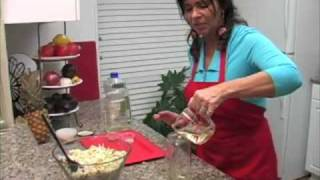 Granny Nancy's Kitchen Cooking Show Chinese Chicken Salad American Show