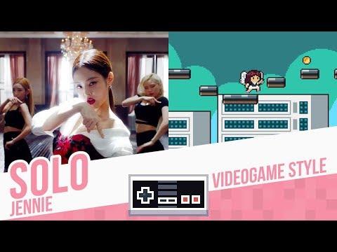 Download Lagu SOLO, Jennie - Videogame Style