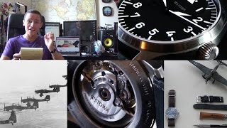 The Best Authentic WW2 Pilot Watch? – Flieger Klassik 40 Automatic With Logo Review & Brand Overview