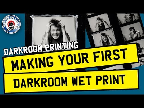 FILM PHOTOGRAPHY FOR BEGINNERS - DARKROOM PRINTING