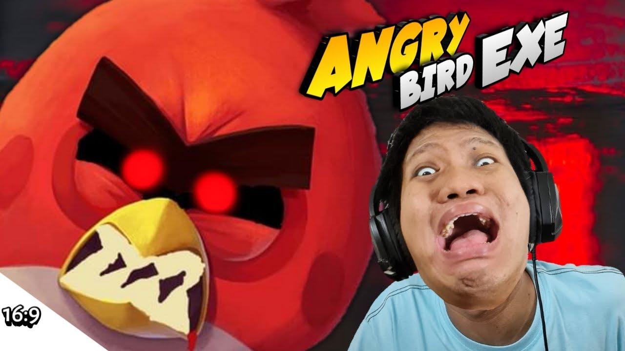 KALAU MARAH BURUNG MERAH INI JAHAT BANGET!!! Angry Bird EXE [SUB INDO] ~Buat Stresss!!