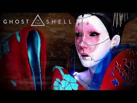 Geisha Robot Makeup Headpiece Ghost In The Shell Giveaway Beendet Youtube