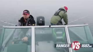 Ranger Aluminum VS1682WT Deep V On-Water Footage