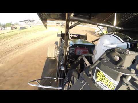 Brian Smith Flips at Fremont Speedway 6-25-2016