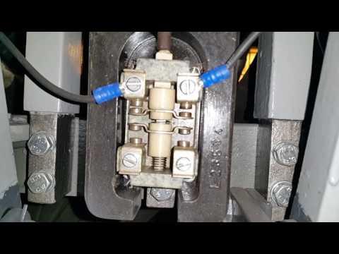 Lokomotywa 3E/1 - ET21 usterka w obwodzie wyłącznika szybkiego 1