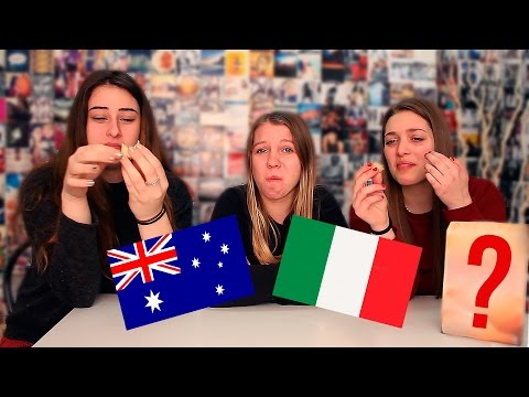 Australians Try Italian Snacks