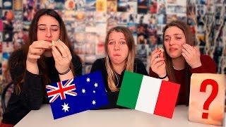 Australians Try Italian Snacks