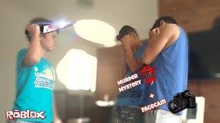 1o video con FaceCam + Murder Mystery 2-Roblox