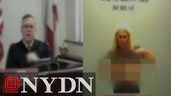 Florida escort, porn star flashes judge during bond hearing