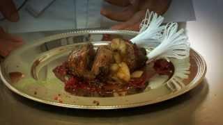 видео рецепт фаршированная утка в малиновом соусе