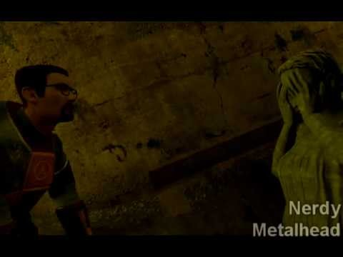 [gmod] Gordon Freeman Meets A Weeping Angel