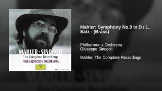 Mahler: Symphony No.9 in D / 1. Satz - (Brass)