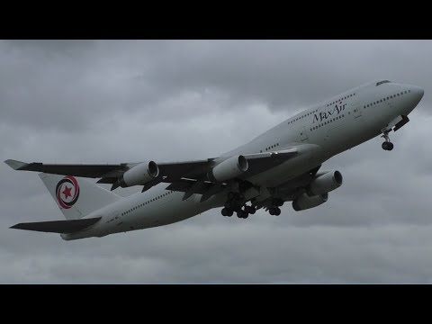 Plane Spotting at Cambridge Airport   Feat. 747, A330, BAe 146, C-130s & More