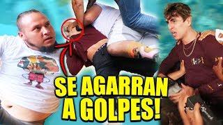 YOUTUBERS SE GOLPEAN EN FRENTE DE LOS FANS *esto se fue a otro nivel*